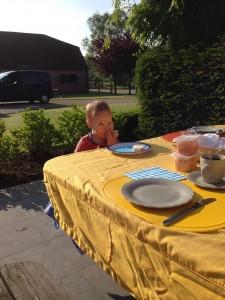 ontbijten waver